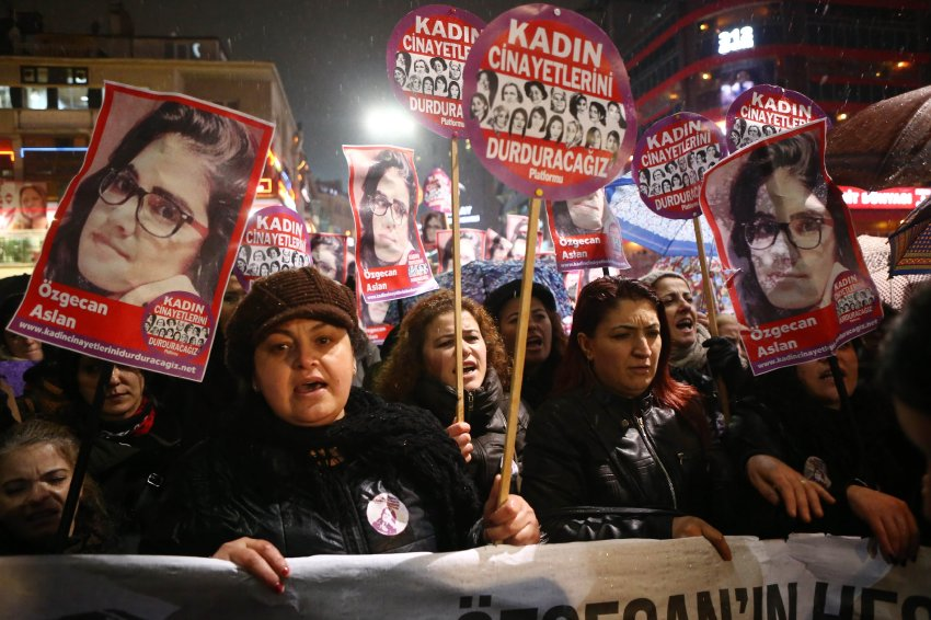 TURKEY-CRIME-WOMEN-RIGHTS-PROTEST