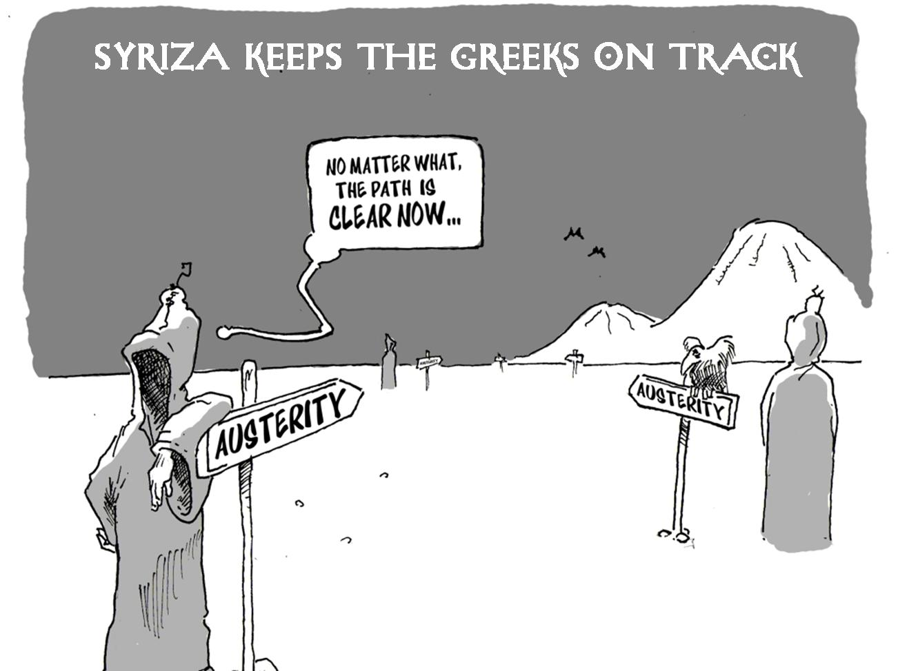 Syriza Keeps the Greeks on Track